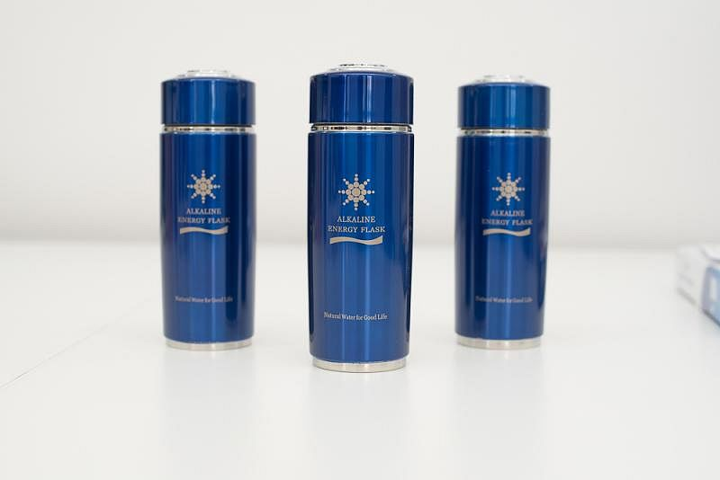 Nano energetický pohár Red/Blue