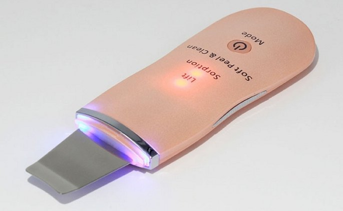 Ultrazvukova spachtle hneda moderna