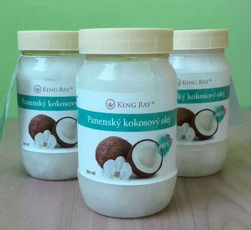 Extra panenský kokosový olej 390ml