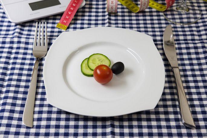 Talíř se zeleninou