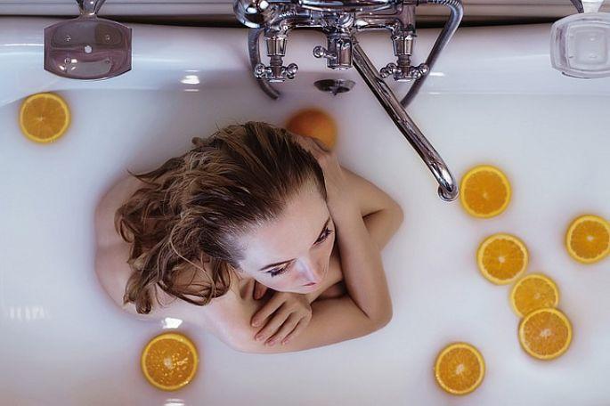 Koupel v  bylinkách