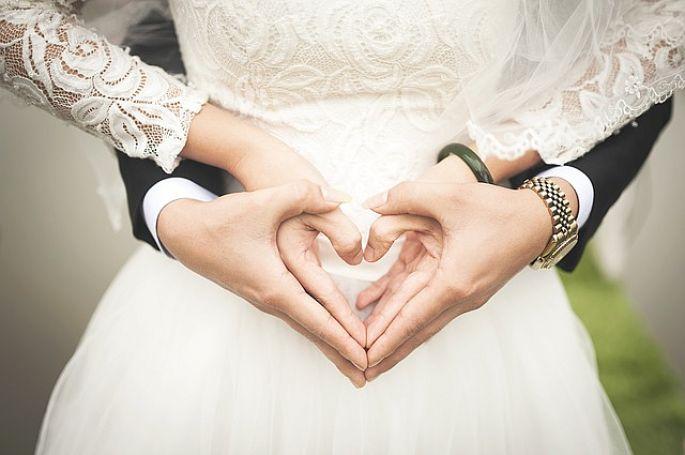 Svatba, štěstí