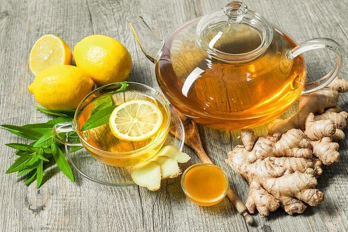 Zázvorový čaj - první pomoc při nachlazení