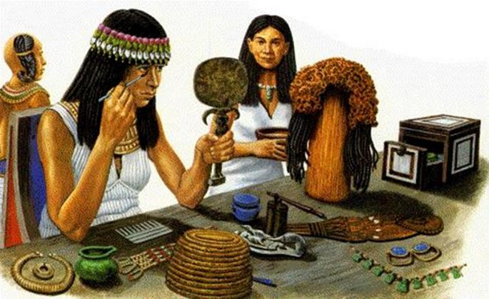historia kosmetiky egypt
