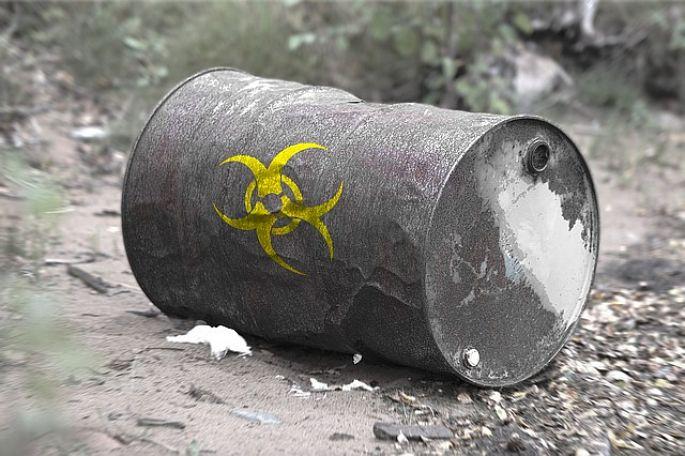Toxický odpad