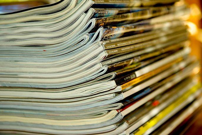 Skladování starých časopisů