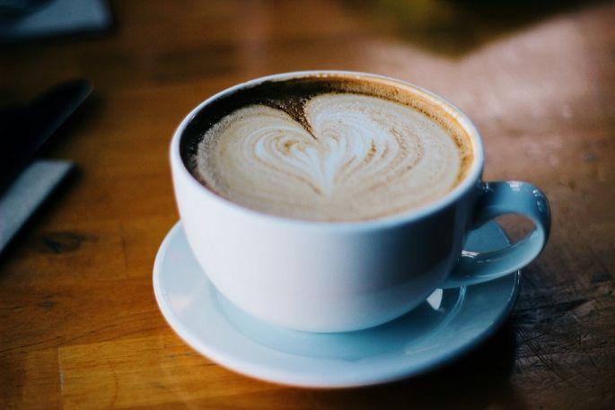 kava s mlekem