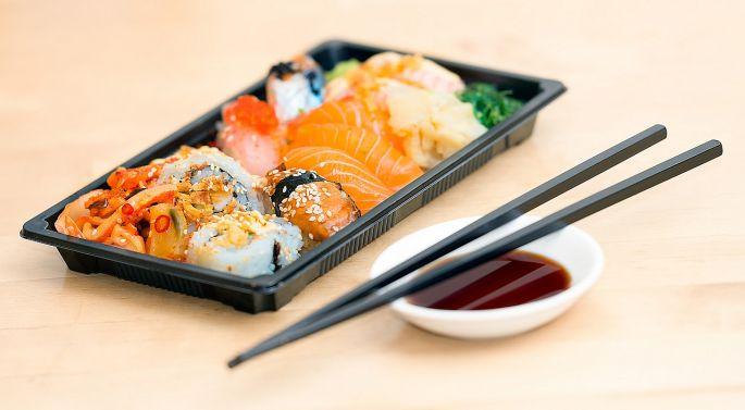 sushi se zazvorem