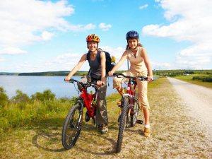 cyklistky na kole